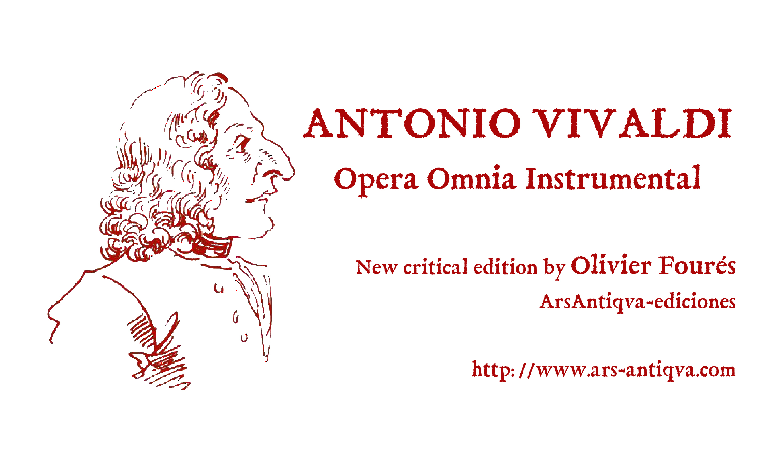Vivaldi. Opera Omnia Instrumental - Ars Antiqva ediciones