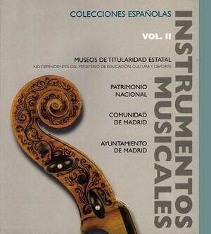 Bordas. Catálogo de instrumentos musicales en colecciones españolas, vol. II