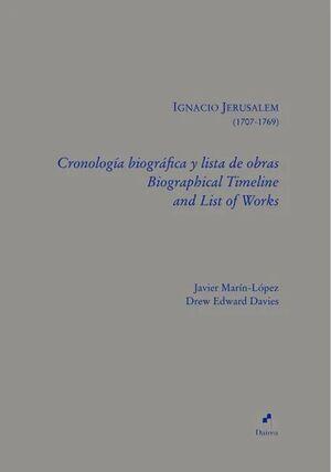 Jerusalem. Cronología biográfica y lista de Obras de Ignacio Jerusalem.