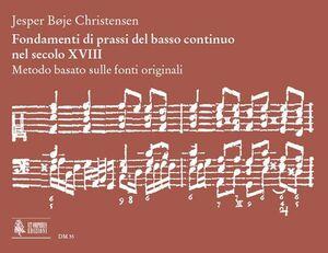 Christensen. Fondamenti di prassi del basso continuo nel secolo XVIII