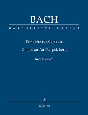 Bach, J. S. Concertos for Harpsichord BWV 1052-1059. (TP)