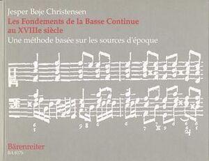 Christensen. Les Fondements de la Basse Continue au XVIIIe siècle