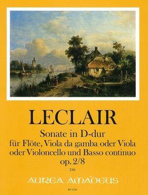 Leclair. Sonata op. 2/8 in D major