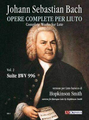 Bach, J. S. Suite BWV 996 per Liuto barocco