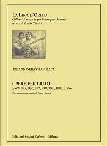 Bach, J. S. Opere per liuto
