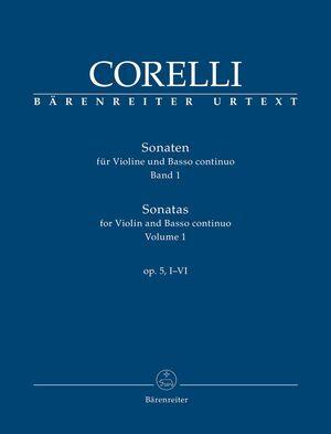 Corelli. Sonatas for Violin and Basso continuo op. 5, I-VI