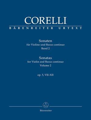 Corelli. Sonatas for Violin and Basso continuo op. 5, 7-12 (PA+SET)