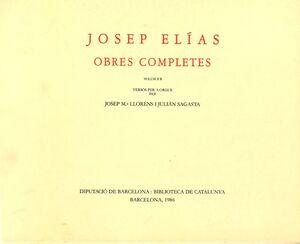 Elies, J. Obres completes Vol. IIB