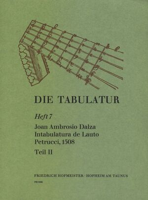Dalza. Intabulatura de Lauto Petrucci, Teil II