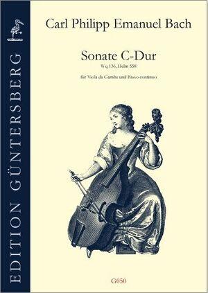 Bach, C. P. E. Sonate C-Dur für Viola da gamba und Basso continuo