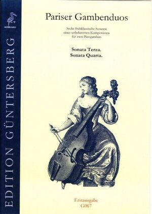 Pariser Gambenduos. Sonata terza, sonata quarta