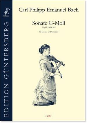 Bach, C. P. E. Sonate g-moll für VIoline und Cembalo