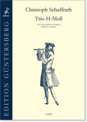 Schaffrath. Trio H-moll