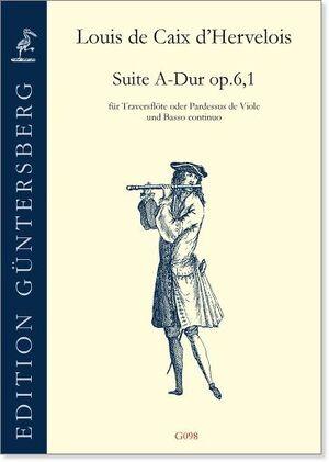 Caix D´Hervelois. Suite A-Dur op.6/1