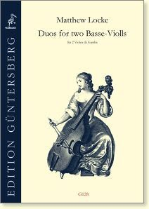 Locke. Duos for two Basse-Violls, 1652.