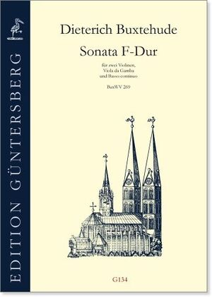 Buxtehude.Sonata F-Dur für 2 Violinen, Viola da Gamba und Baso continuo BuxWV 269