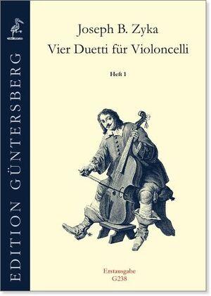 Zyka. VierDuetti für Violoncelli. Heft 1