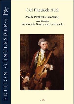 Abel. Zweite Pembroke-Sammlung. 4 Duette for Viola da Gamba and Violoncello.