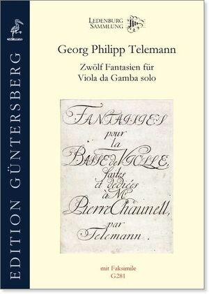 Telemann. Zwölf Fantasien für Viola da Gamba solo