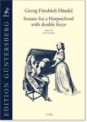 Handel. Sonata for a Harpsichord with double keys