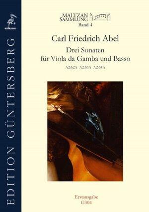 Abel. Drei Sonaten für Viola da Gamba und Basso. Maltzan Collection, Vol. 4