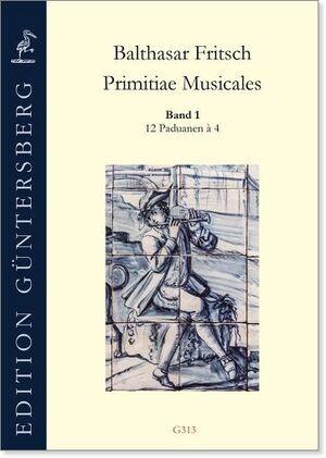 Fritsch. Primitiae Musicales Band 1