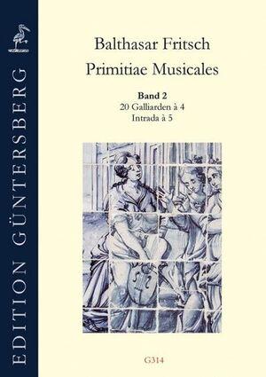 Fritsch. Primitiae Musicales Band 2