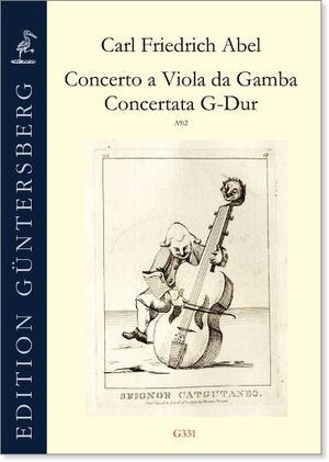 Abel. Concerto a Viola da Gamba Concertata in G-Dur