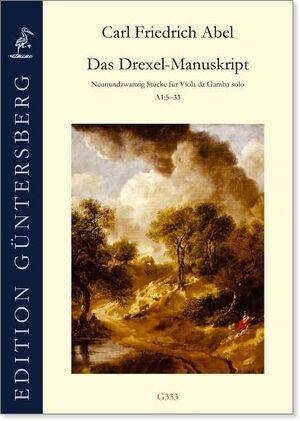 Abel. The Drexel-Manuscript. 29 Pieces for Solo Viola da Gamba