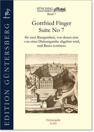 Finger. Suite No.7 für 2 Violen da Gamba und Basso continuo