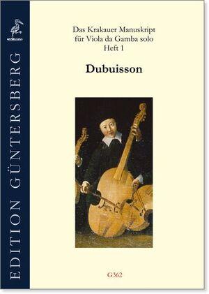 Das Krakauer Manuskript für Viola da Gamba solo. Heft 1