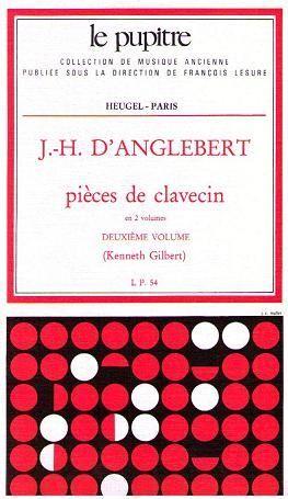 D´Anglebert. Pieces de clavecin. Vol. 2