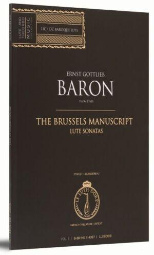 Baron. The Brussels Manuscript. Sonates de luth