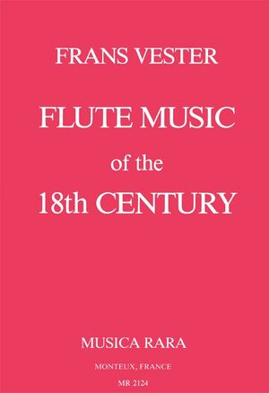 Vester. Flute music of the 18th Century