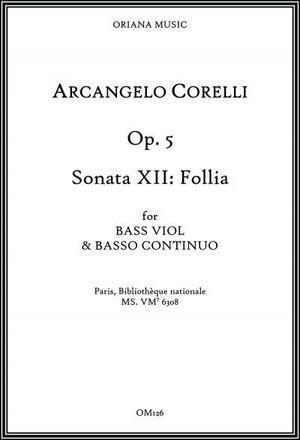 Corelli. 12 Sonatas op.V