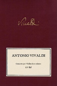 VIVALDI. RV 813 Concerto per Violino in re minore