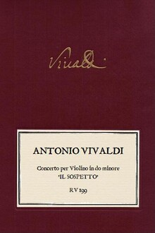 VIVALDI. RV 199 Concerto per Violino in do minore