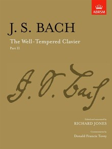 Bach, J. S. The Well-Tempered Clavier. Part II