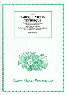 Tarling. Baroque violin technique
