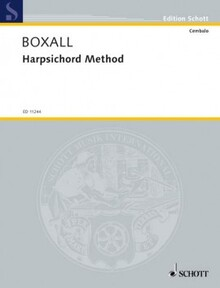 Boxall. Harpsichord method